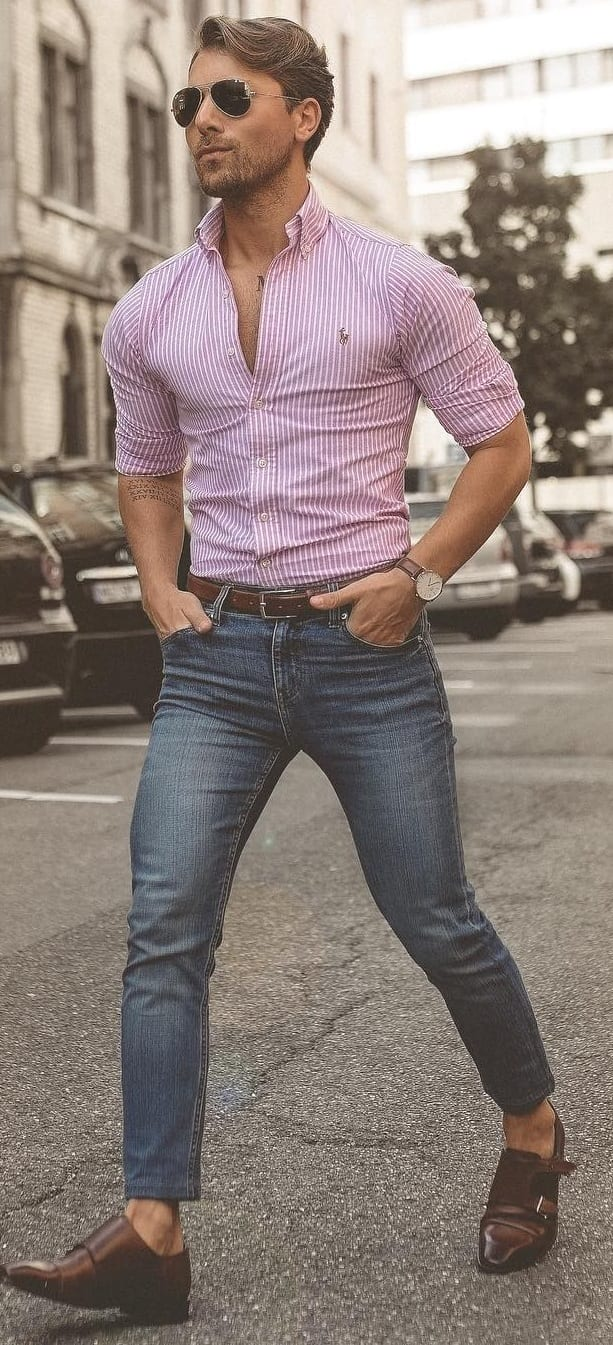 Cool Tuck In Shirt Outfit Ideas For Men