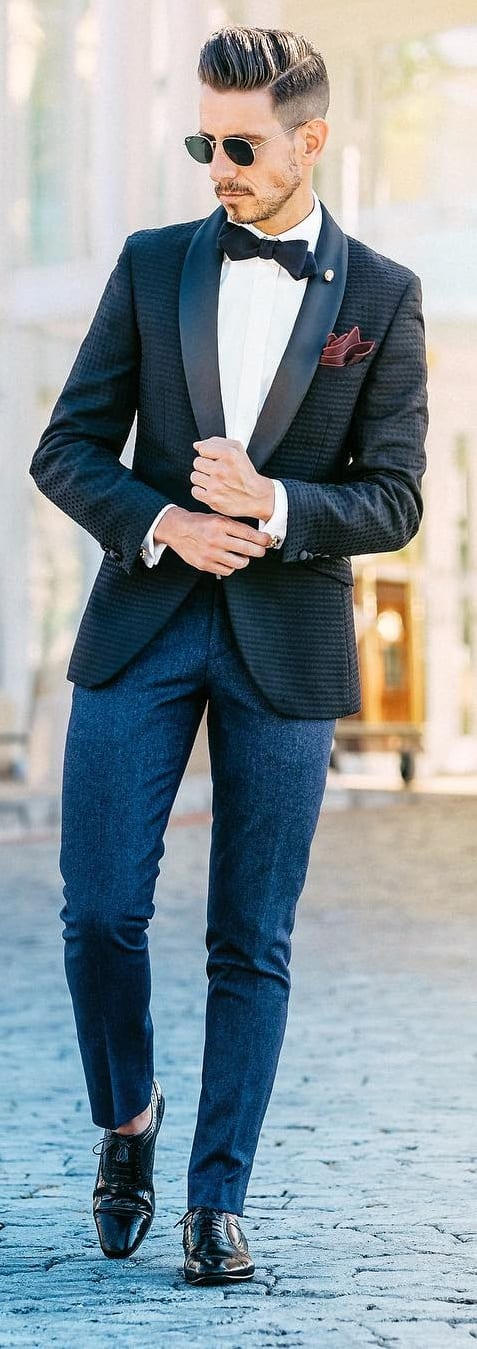 Formal New Year Outfit Ideas For Men