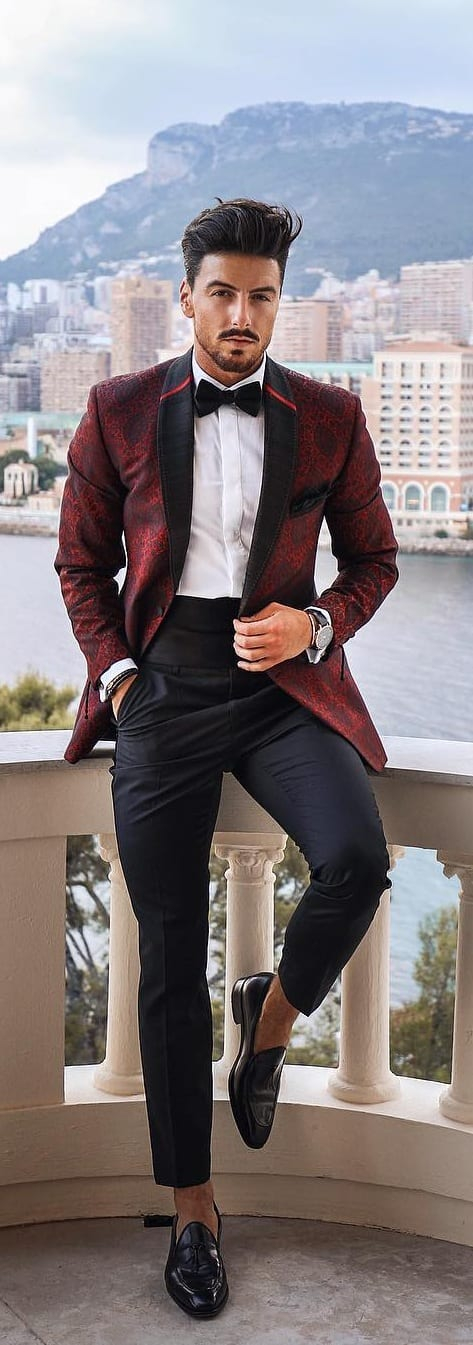 Stylish New Year Outfit Ideas For Men