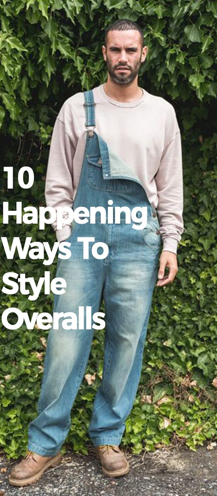 10 Happening Ways To Style Overalls.