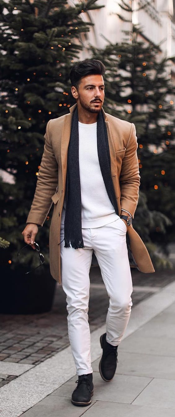Crew Neck Outfit Ideas For Men In 2019