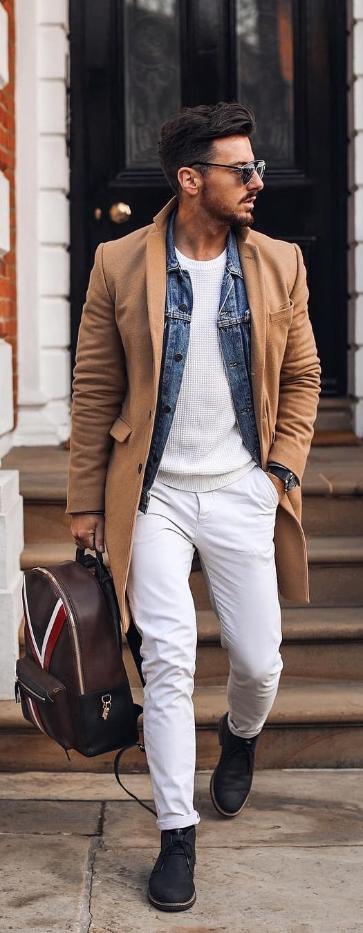 5 Simple Stylish Denim Jackets Ideas For Men This Year
