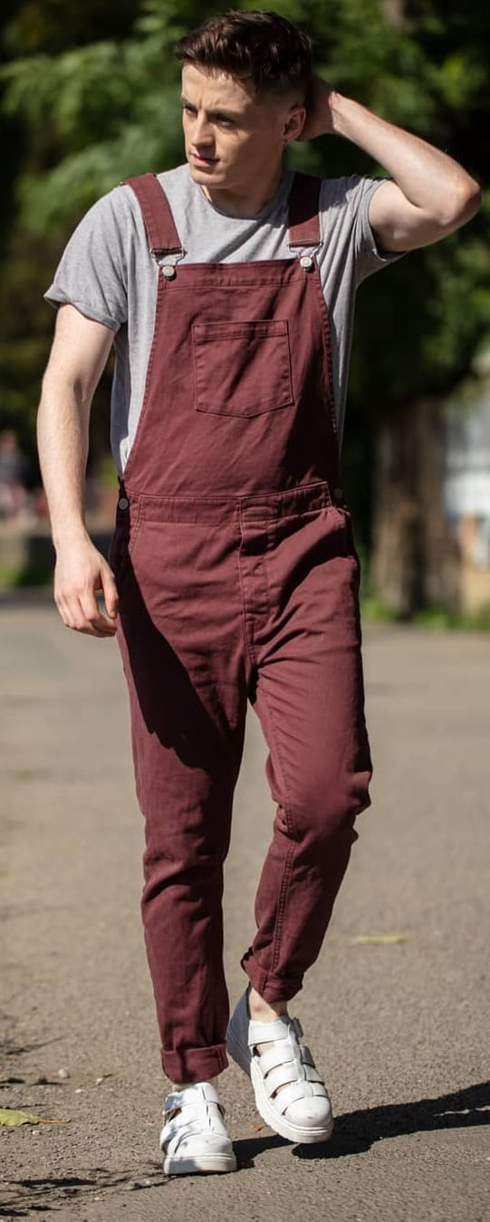 Dungree Outfit Ideas For Men This Season