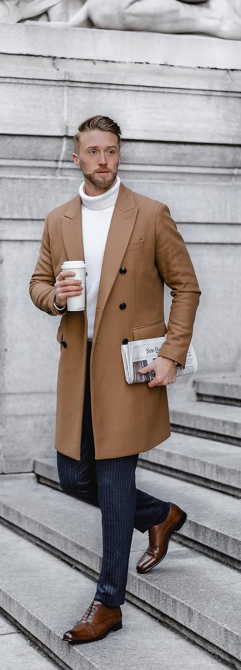 Stylish Turtle Neck Outfit Ideas For Men