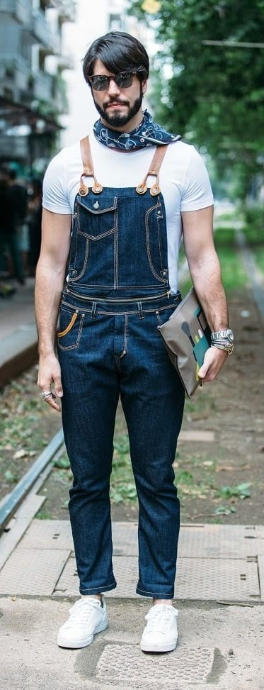 Trendy Overalls Outfit Ideas For Men