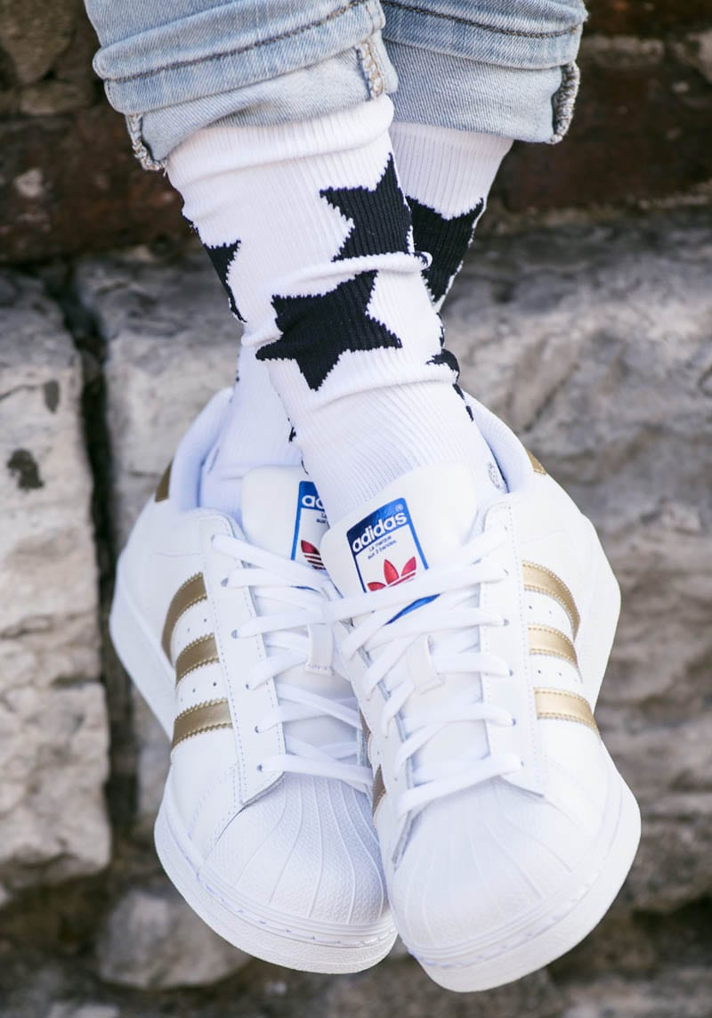 White Adidas Shoes For Men