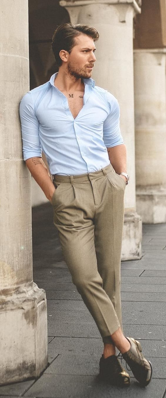 Amazing Dress Shirt Outfit Ideas
