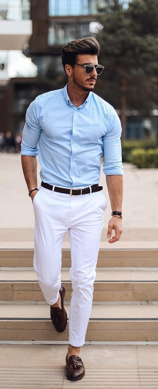 Classy Dress Shirt Outfit Ideas For Men