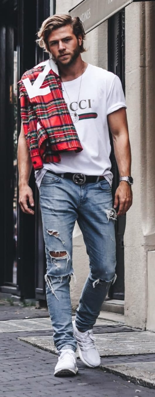 Cool Street Style Outfit Ideas For Men To Style