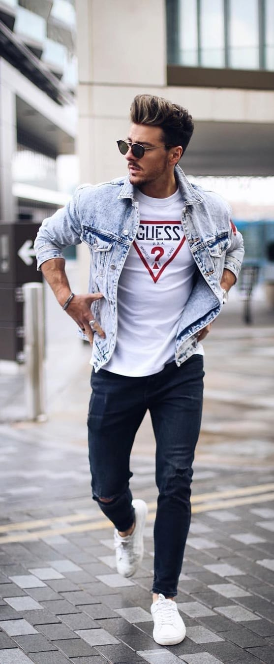 Some Outfit Ideas For Men With Good Physique
