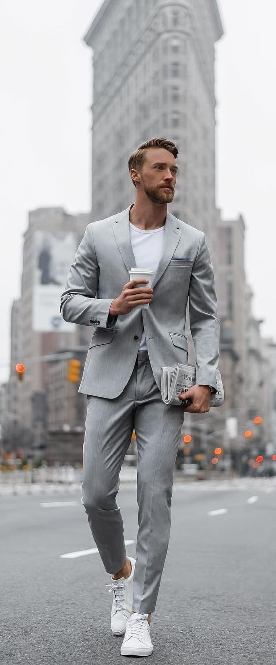 Pastel Suits For Men