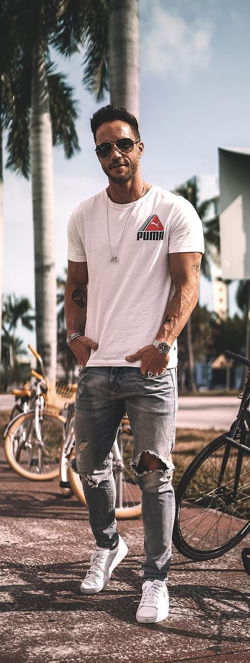 Stylish Summer Denim Looks For Guys