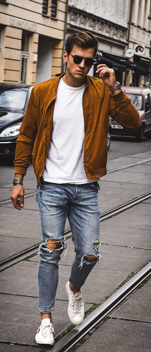 Summer Denim Looks For Men 2019