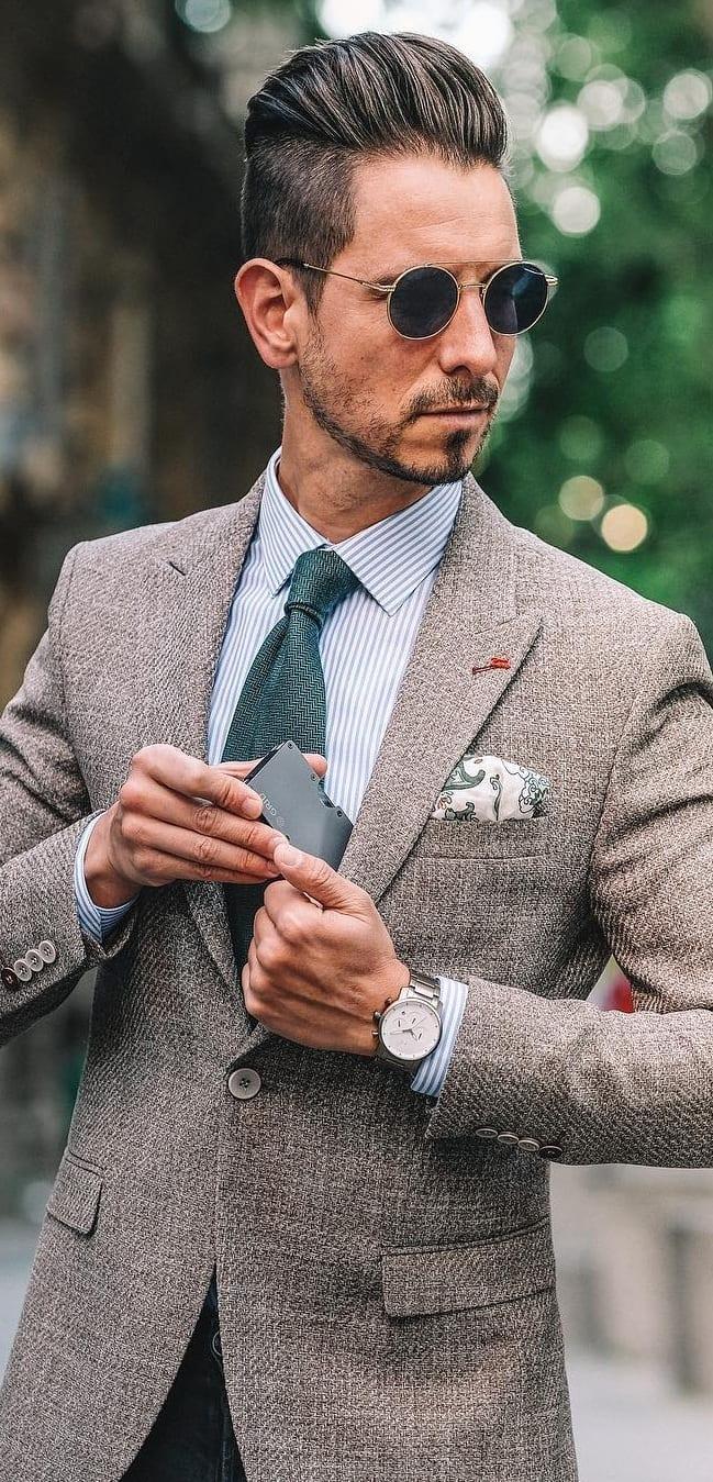 Summer Suit Accessories For Men