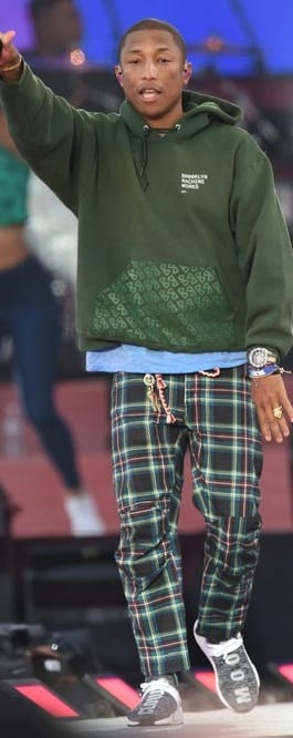 Pharrell Williams Street Style