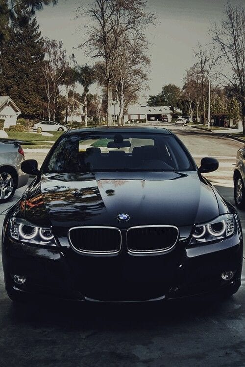 BLACK BMW CHROME