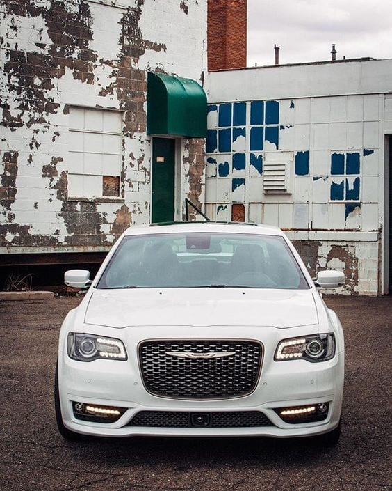CHRYSLER WHITE WALLPAPER