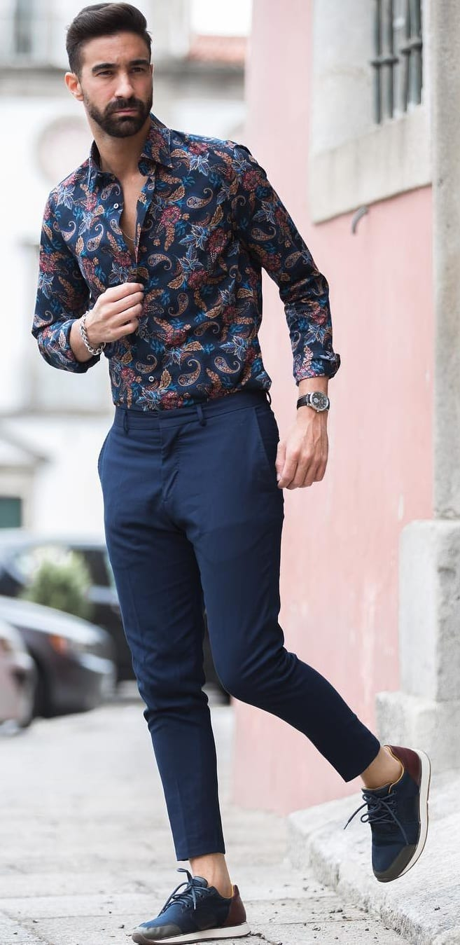 Classy Hawaiian Shirt For Men