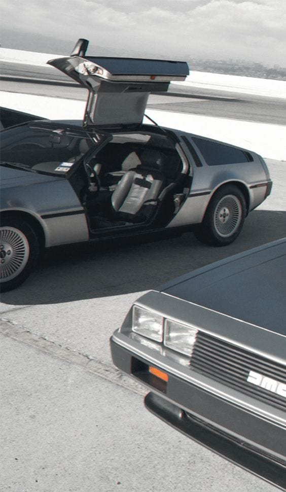 DELOREAN MOTOR COMPANY GREY CAR
