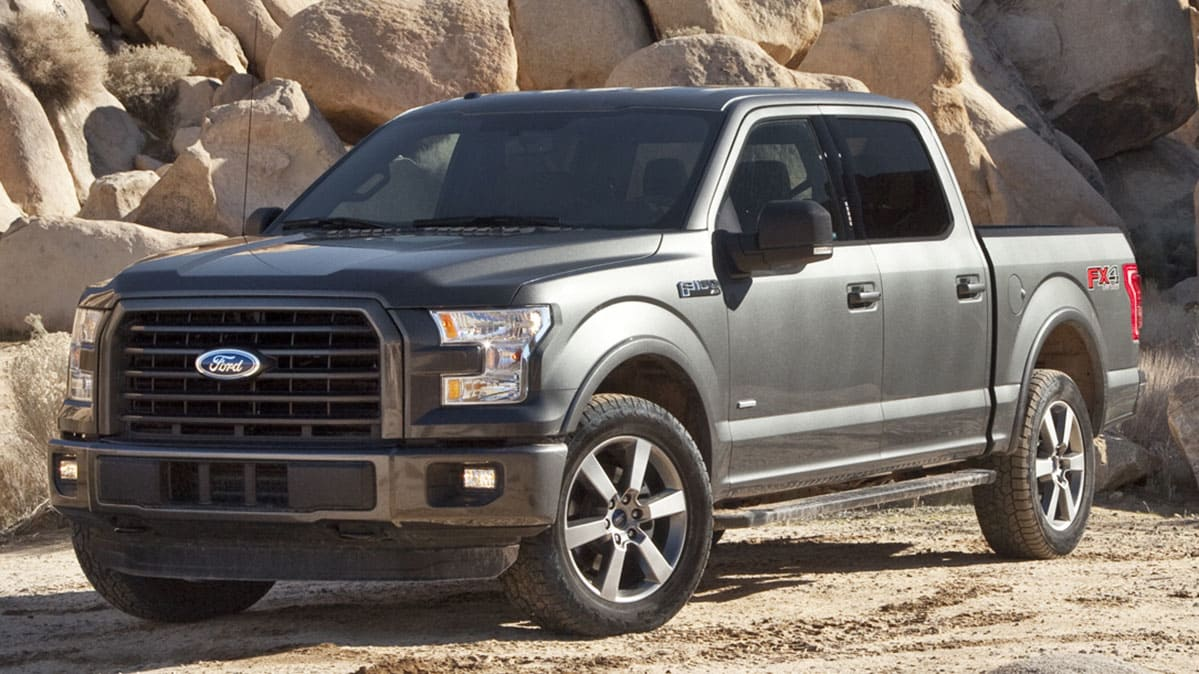 FORD F150 GREY OFFROAD