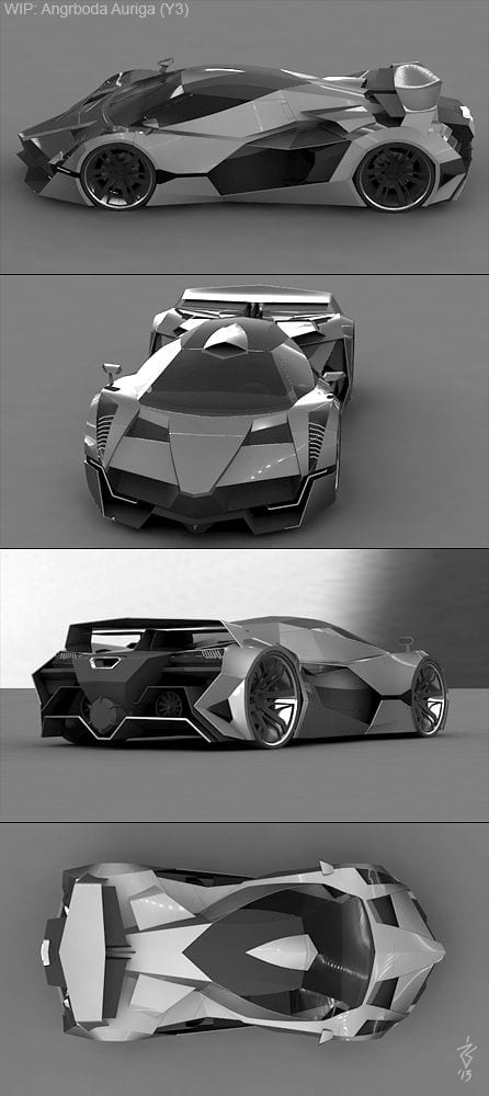 GREY CONCEPT CARS