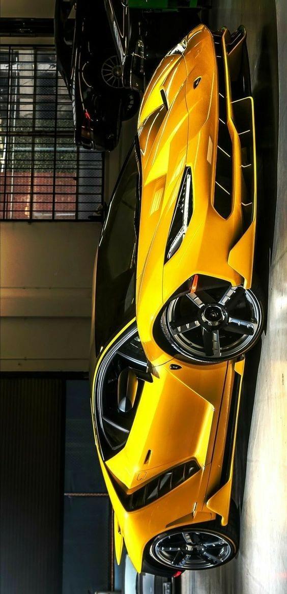 Lamborghini Centenario yellow wallpaper