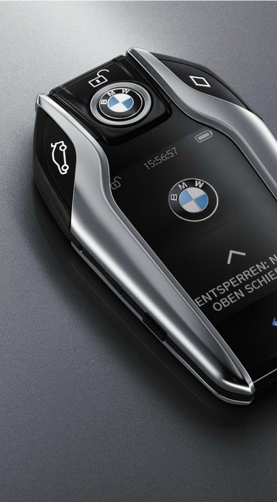 Luxurious BMW Car Keys
