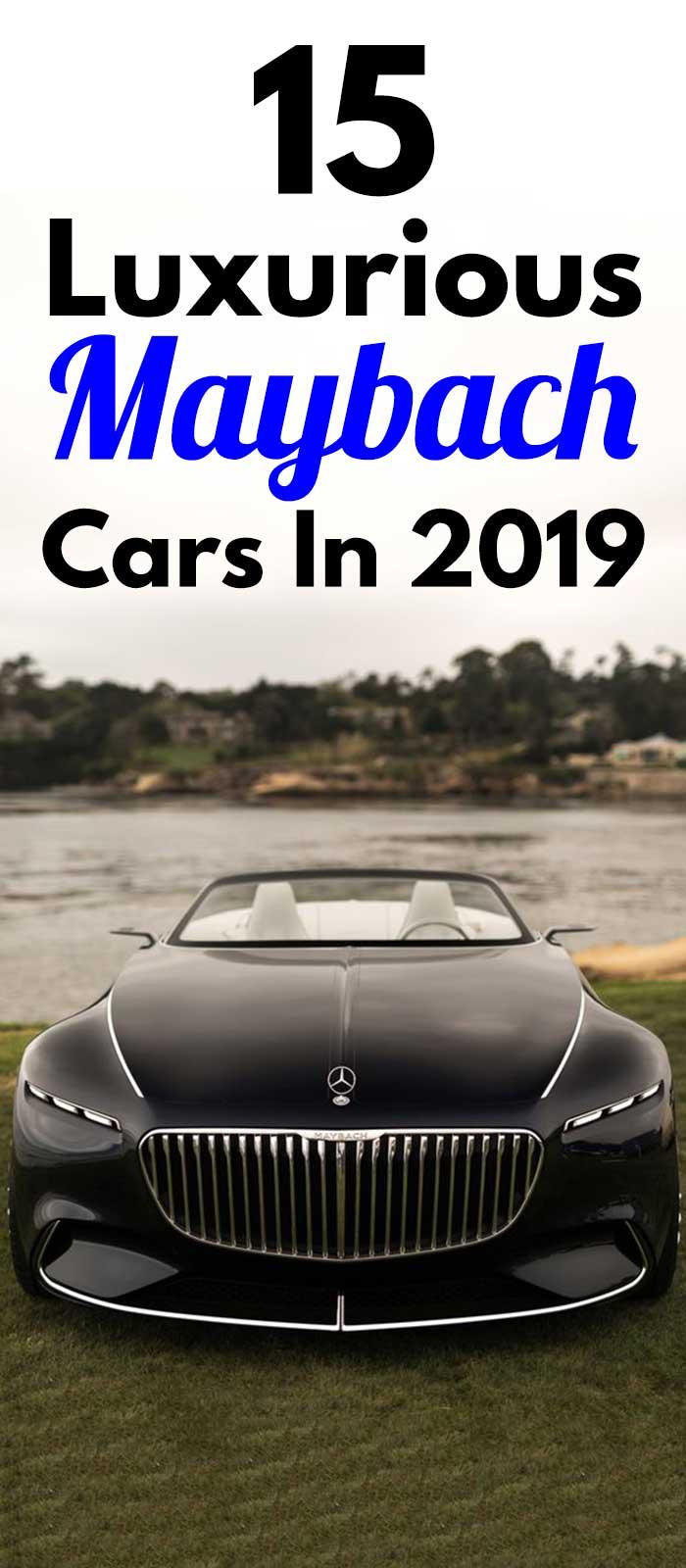 Luxurious Maybach Cars