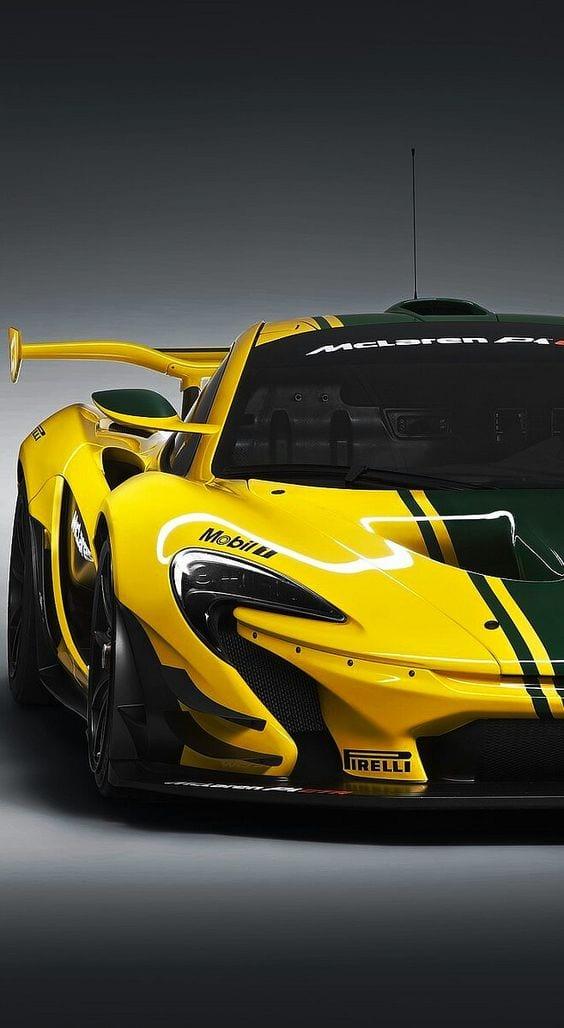 McLaren P1 GTR SUPER CAR