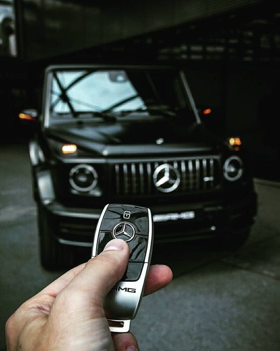 Mercedes Benz Gwagon car keys