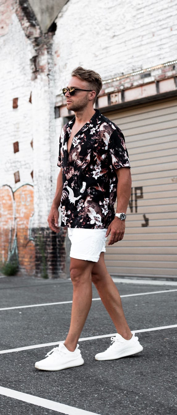 Simple Hawaiian Shirt For Men