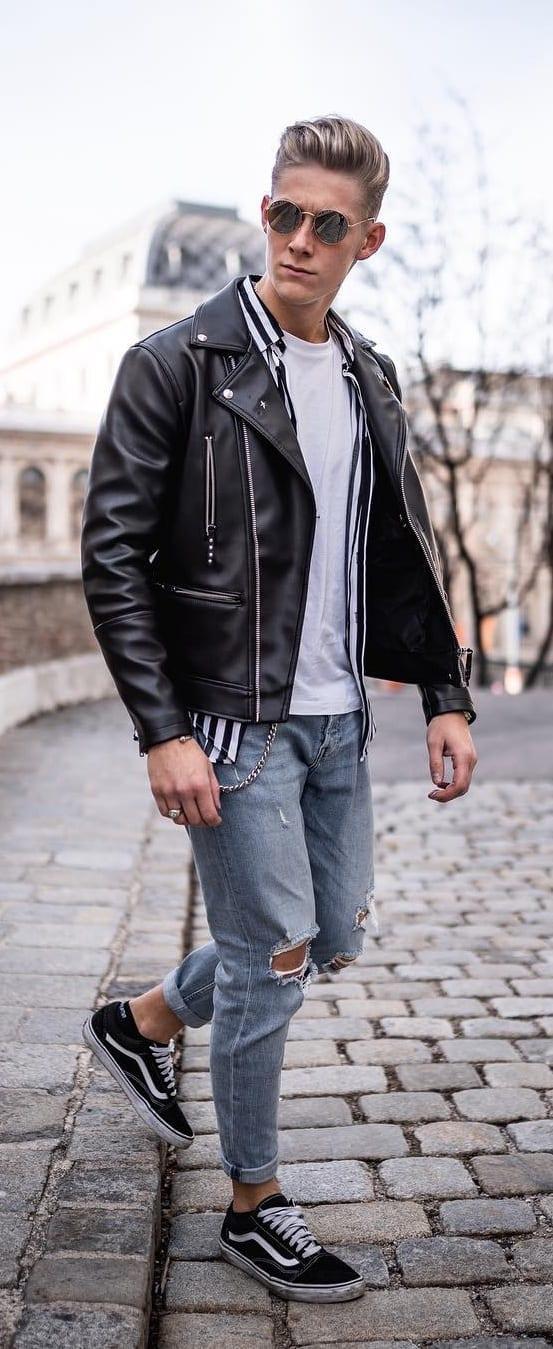 Stunning Biker Jackets For Men