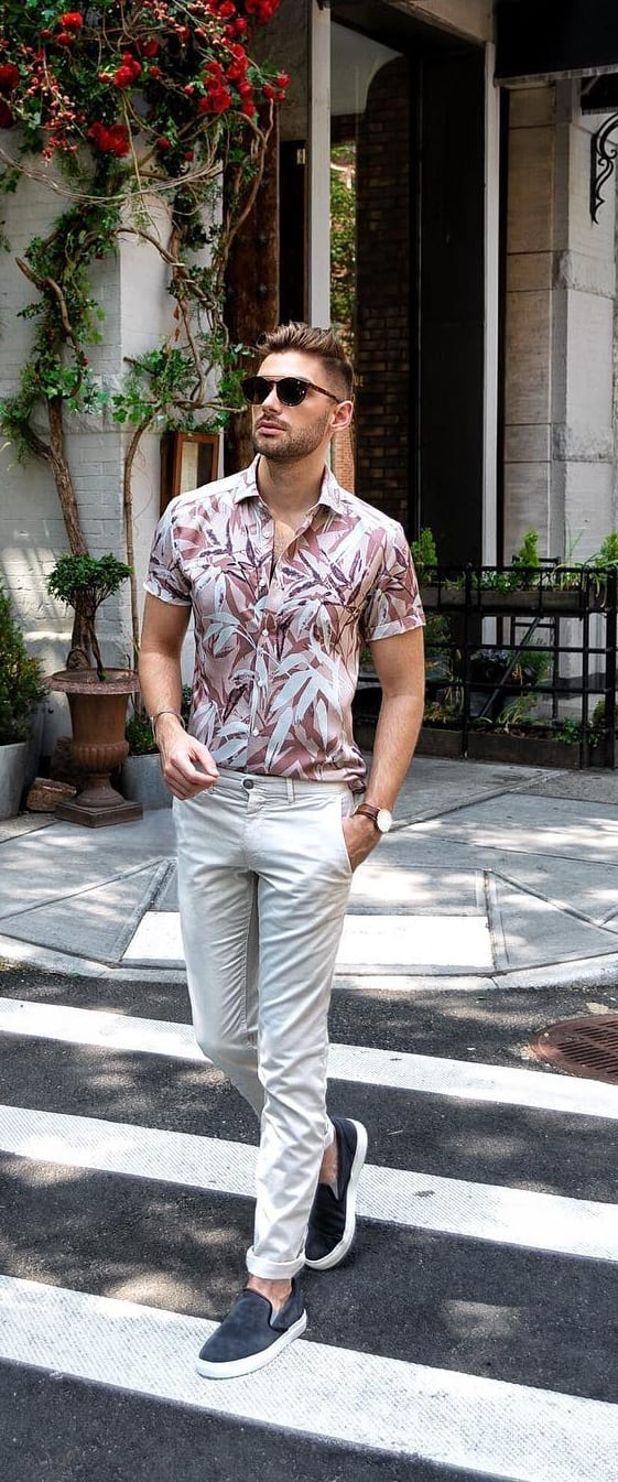 Stylish Hawaiian Outfit Ideas For Men