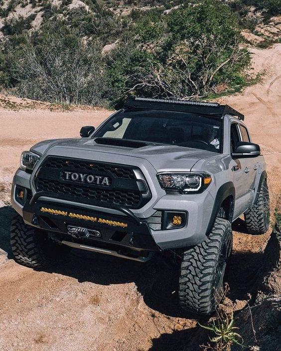 TOYOTA GREY BEAST SUV
