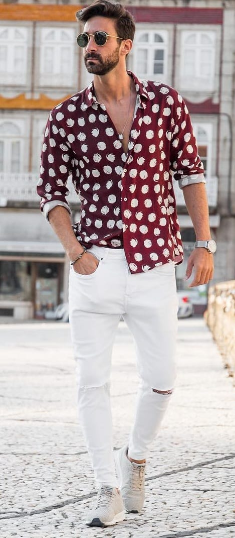 Trendy Hawaiian Shirt For Men
