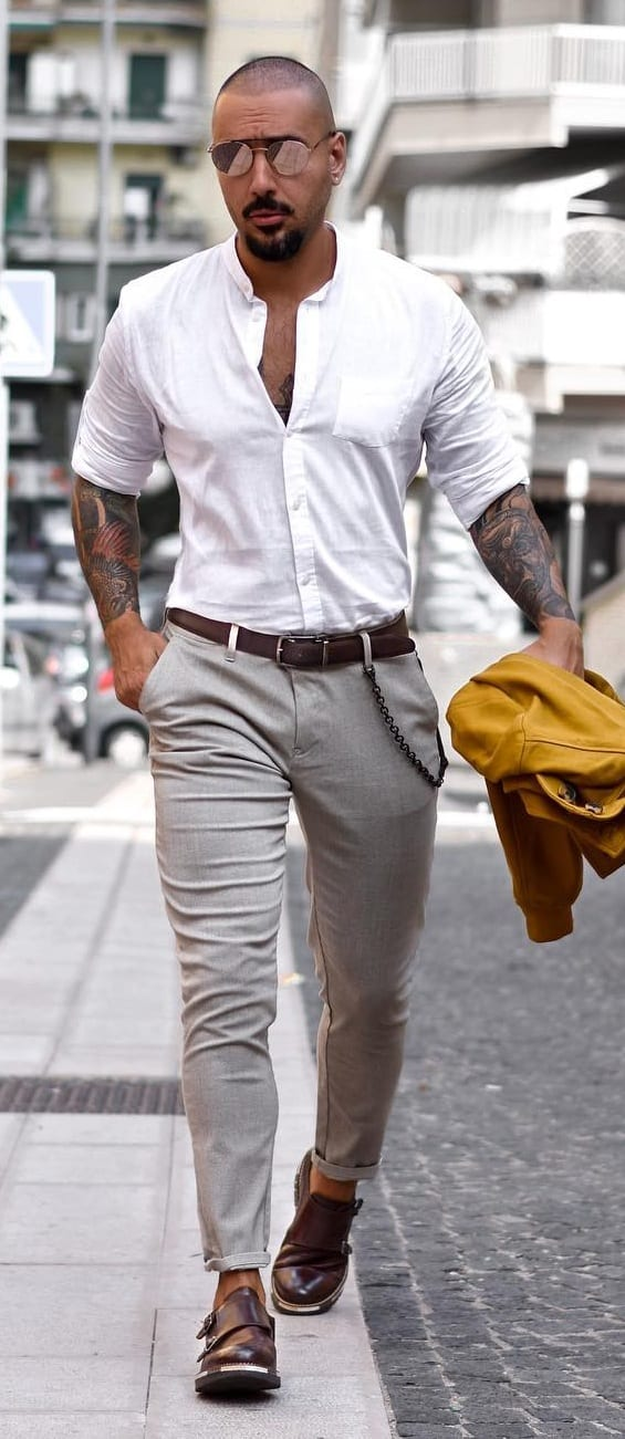 Trendy Summer Work Wear For Guys