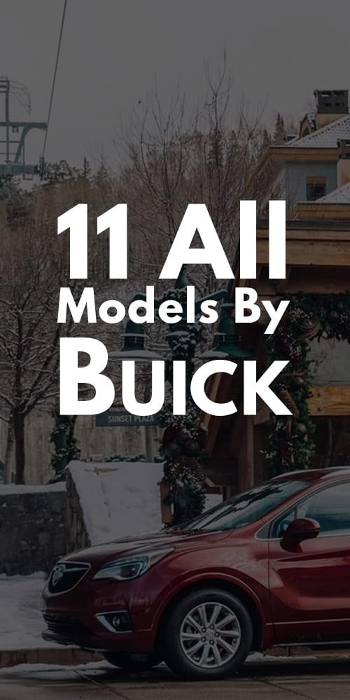 11 All Models By Buick Photos