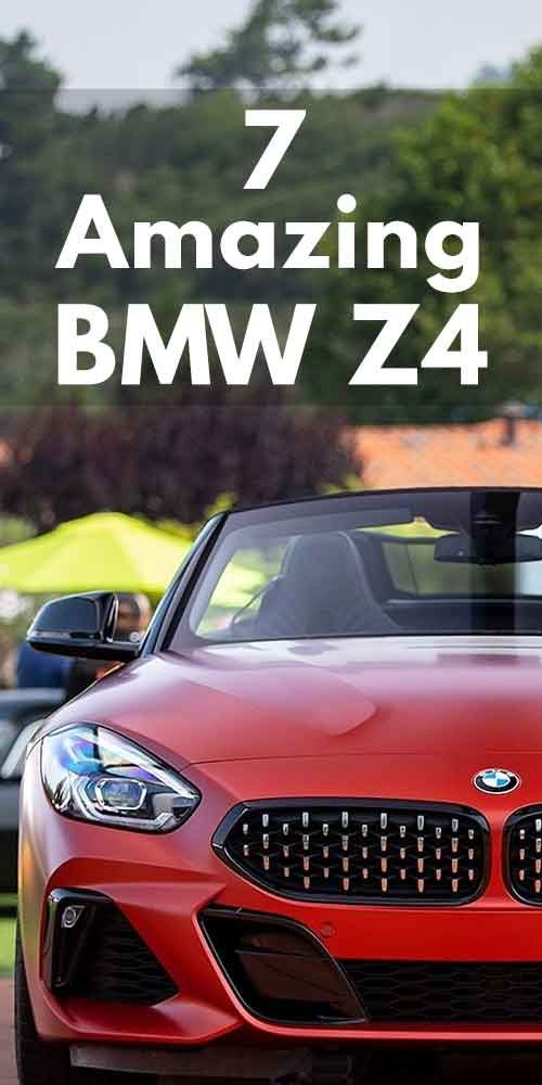 7 Amazing BMW Z4 Car Photos