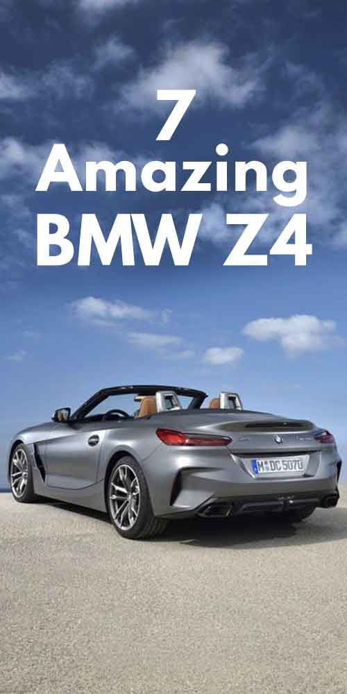 7 Amazing BMW Z4 Car Photos.