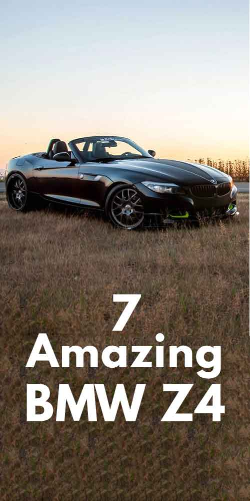 7 Amazing BMW Z4 Car Photos!