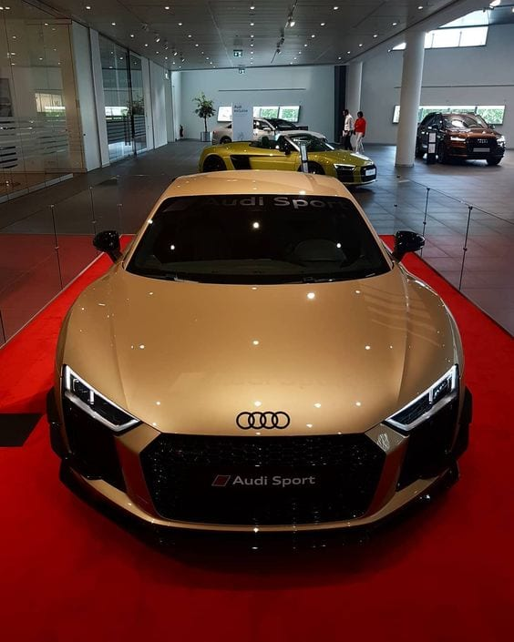 AUDI SPORTS luxury car
