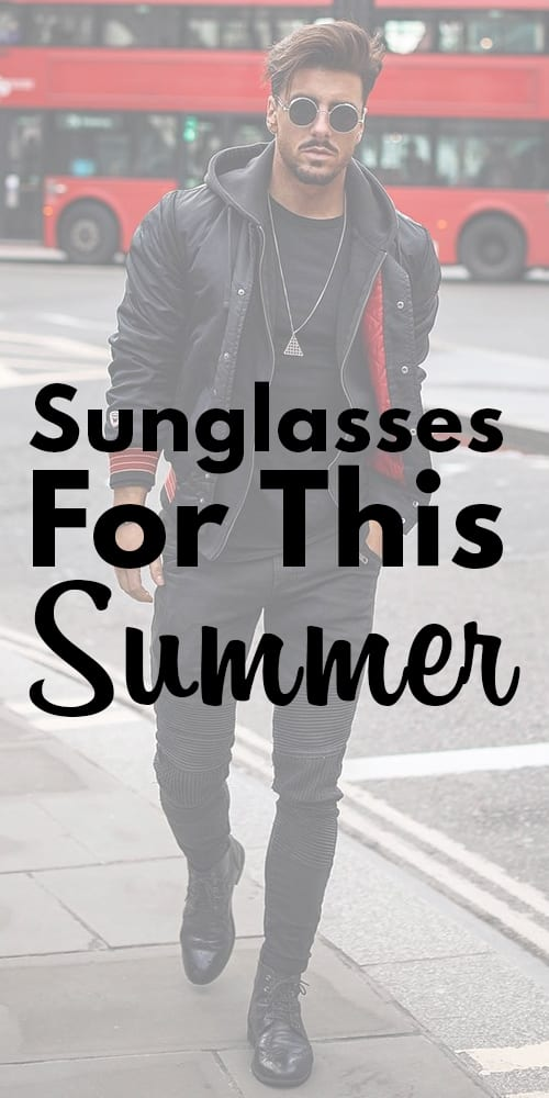 Black Sunglasses,Black Outfit for men