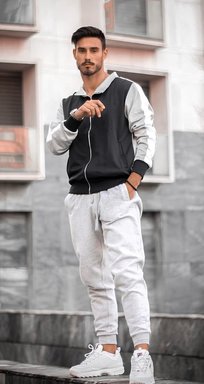 Cool Joggers look for men