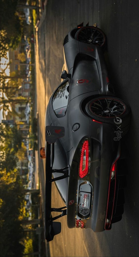 DODGE VIPER ACR BLACK