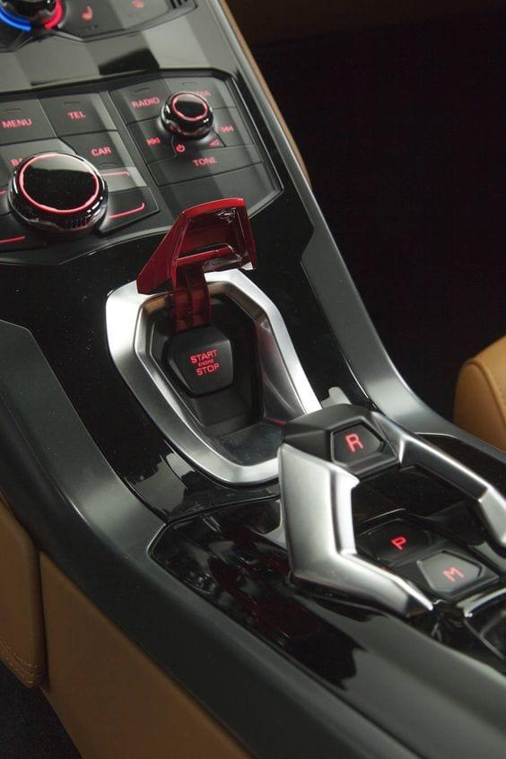 Lamborghini Huracán LP 610-4 INTERIOR