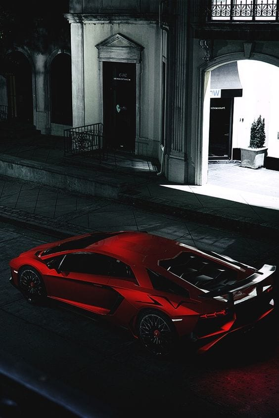 Lamborghini Satin chrome red