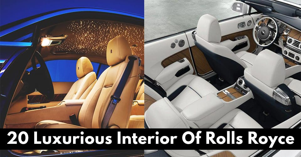 Luxurious Interior Of Rolls Royce!
