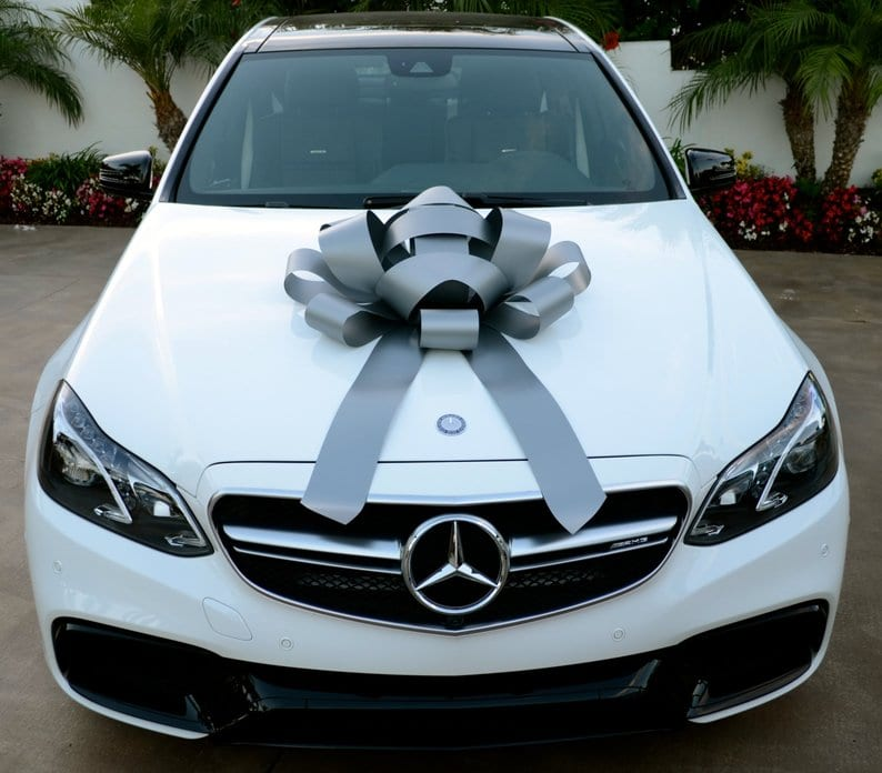Mercedes Benz With Bow