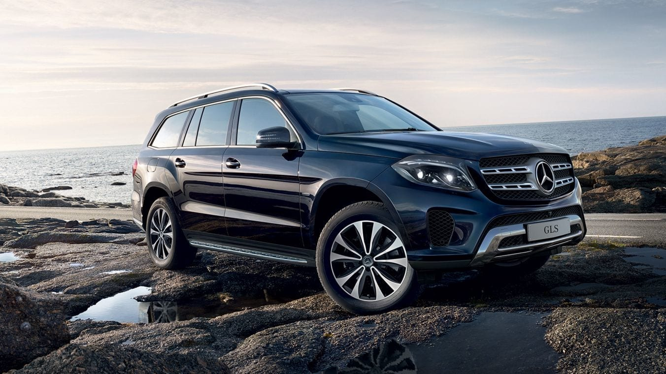 Mercedes GLS Suv Wallpaper