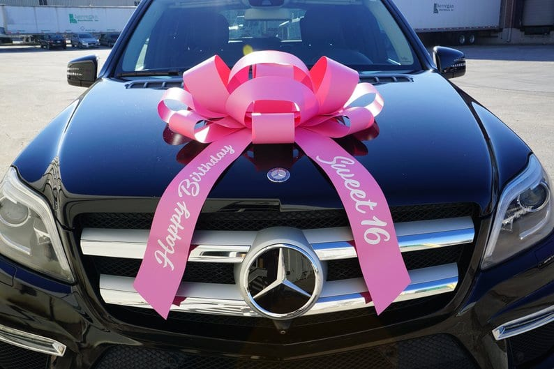 Mercedes With Bow